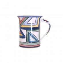 4 – Gerade Tasse – Dekor Farbwerk
