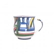 1 – Kleiner Kaffeebecher – Dekor Regenbogen